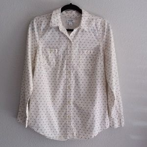 Old Navy women's button down nautical blouse - S